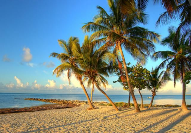 Key West Beach, Florida Keys