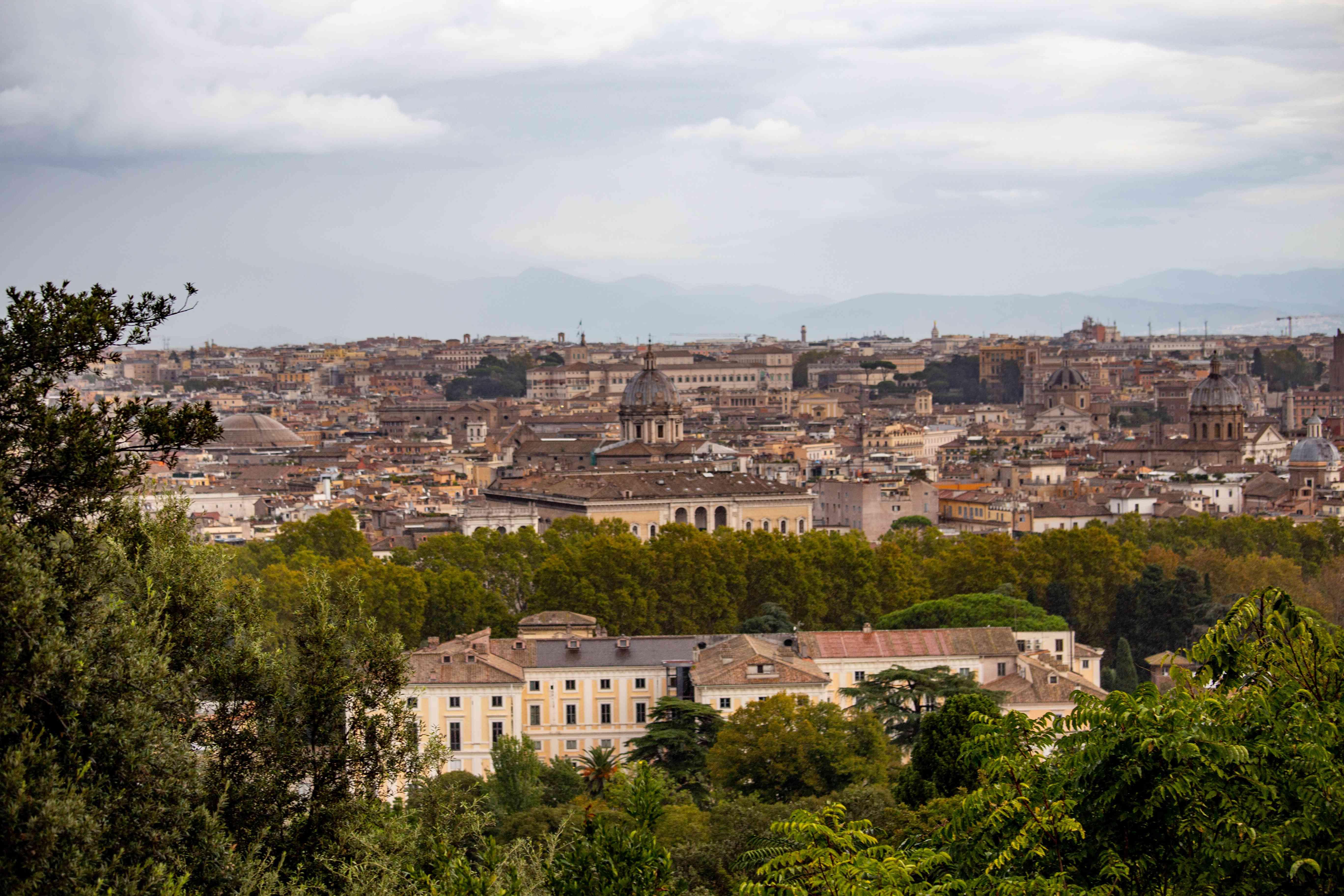 Janiculum Hill, Trastevere, Rome