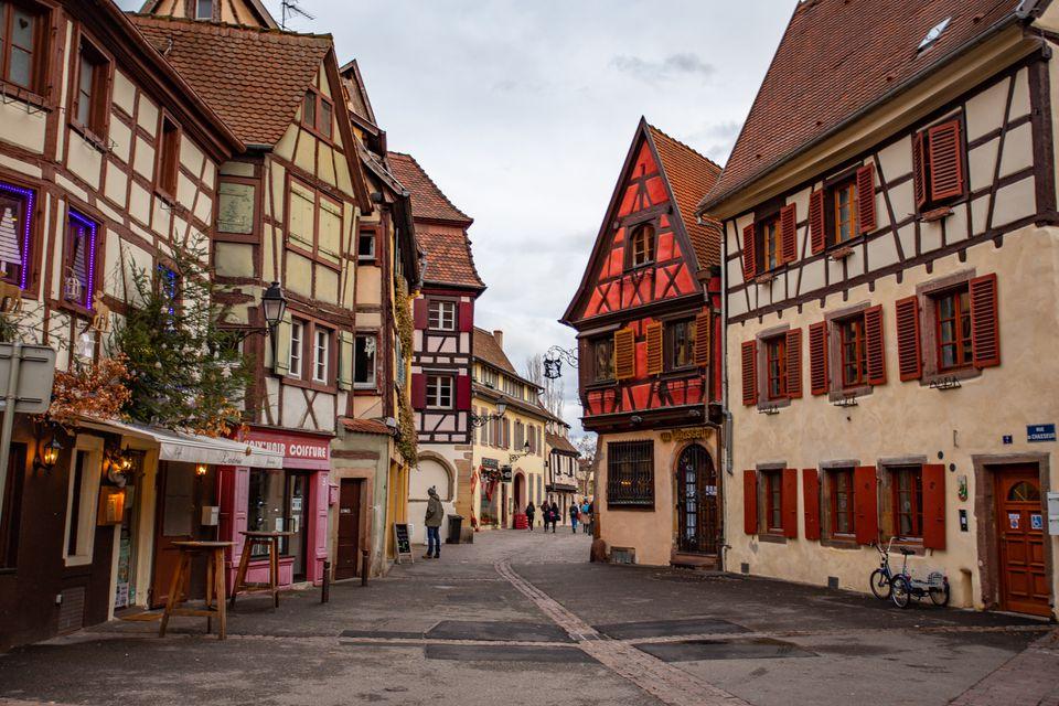 Square in Colmar, France