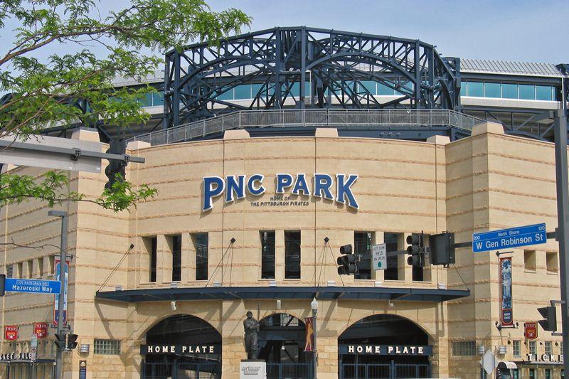 Front entrance of PNC Park
