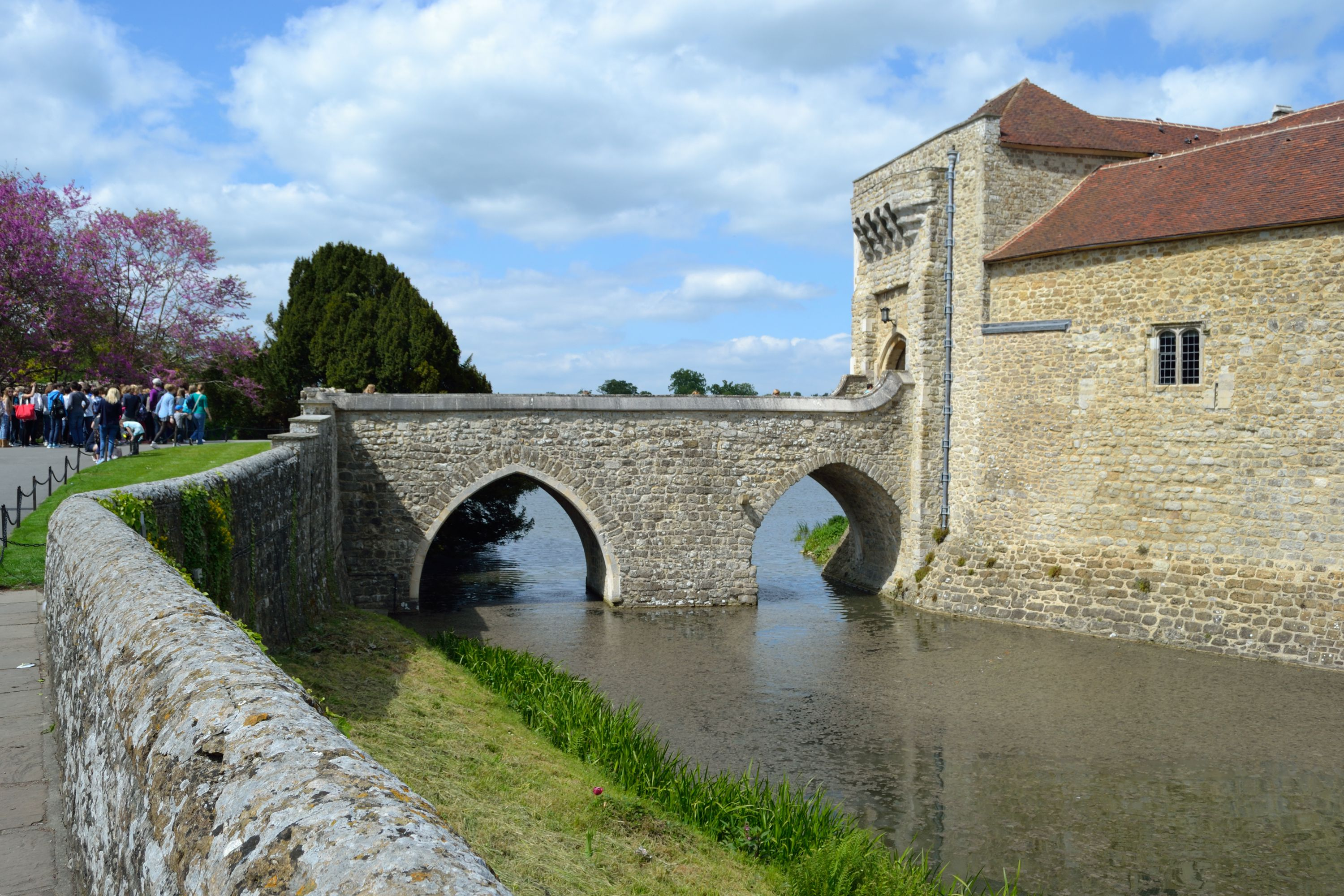The Barbican at Leeds Castle