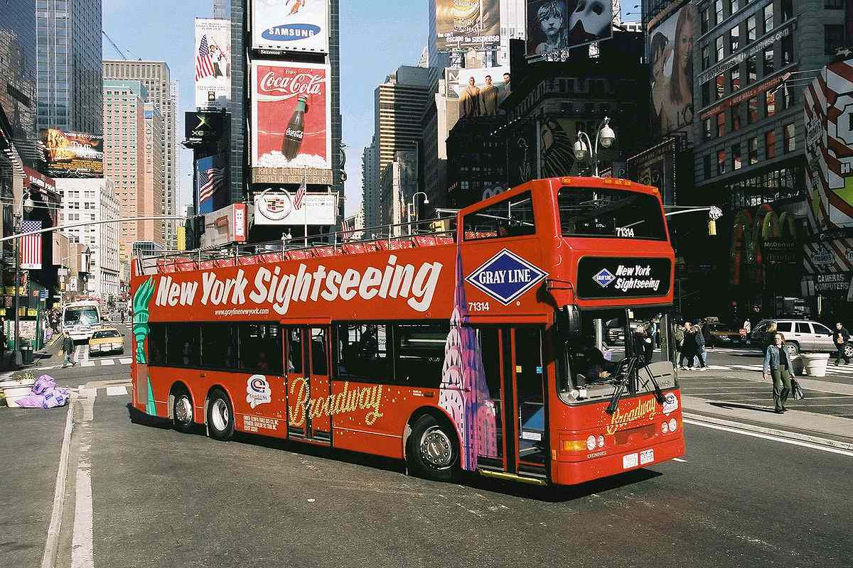 gray line sightseeing bus tour nyc