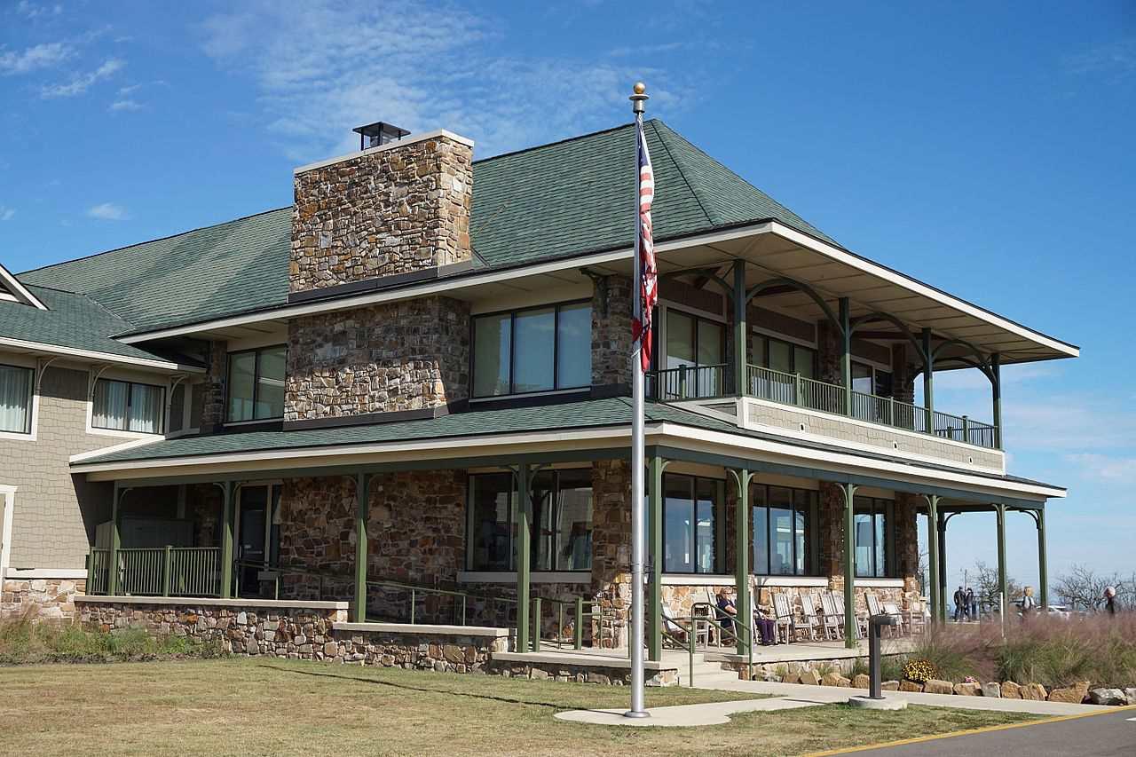Wilhelmina State Park lodge