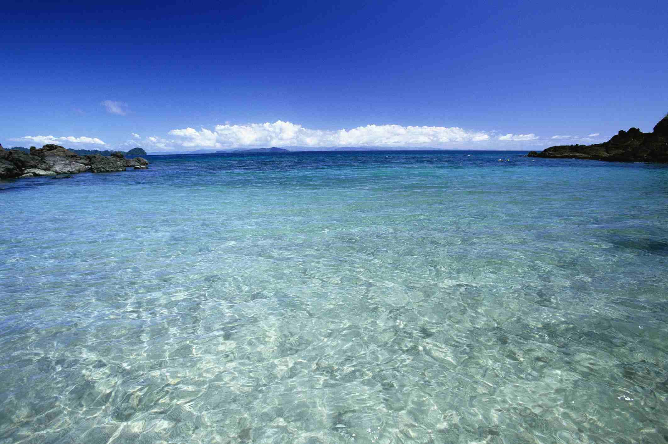 Pacific Ocean from Isla Coiba