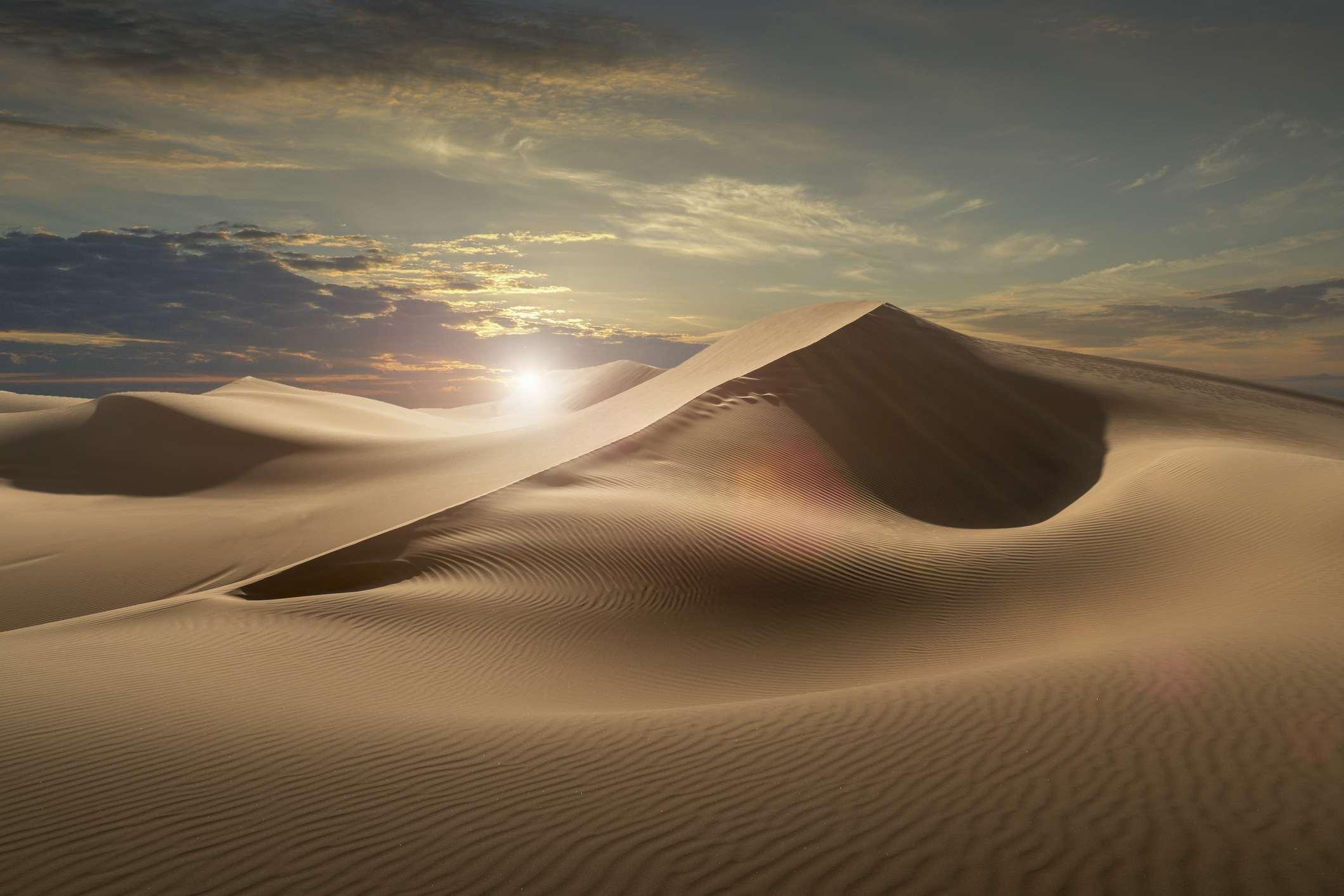 The Empty Quarter or Rub al Khali desert