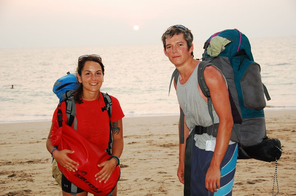 Backpackers in Asia