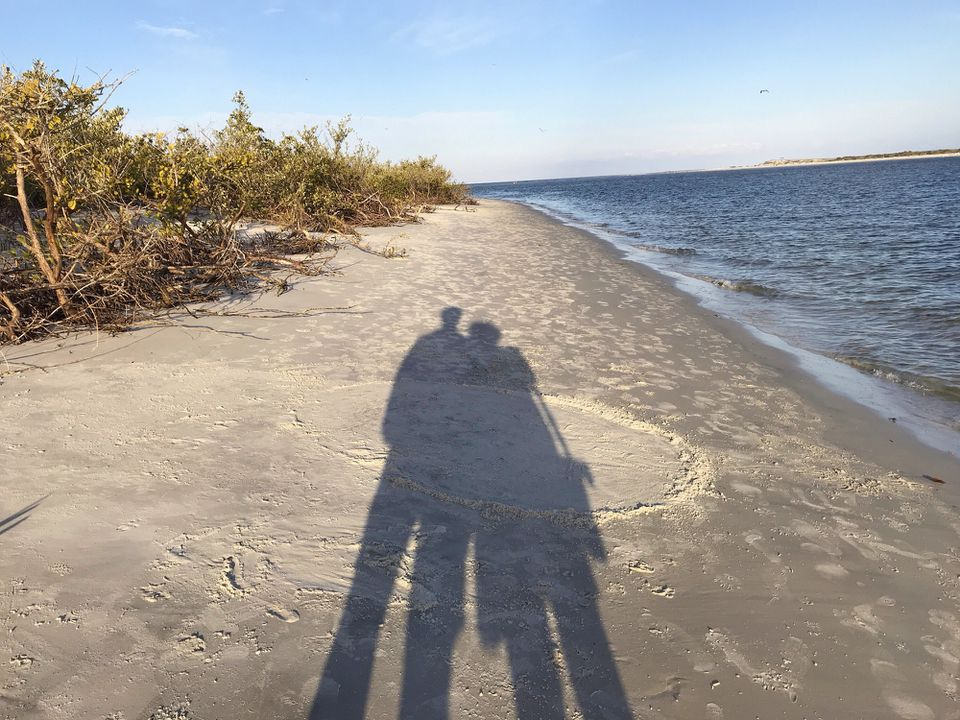 Couple on Ponce Inlet, Florida, United States