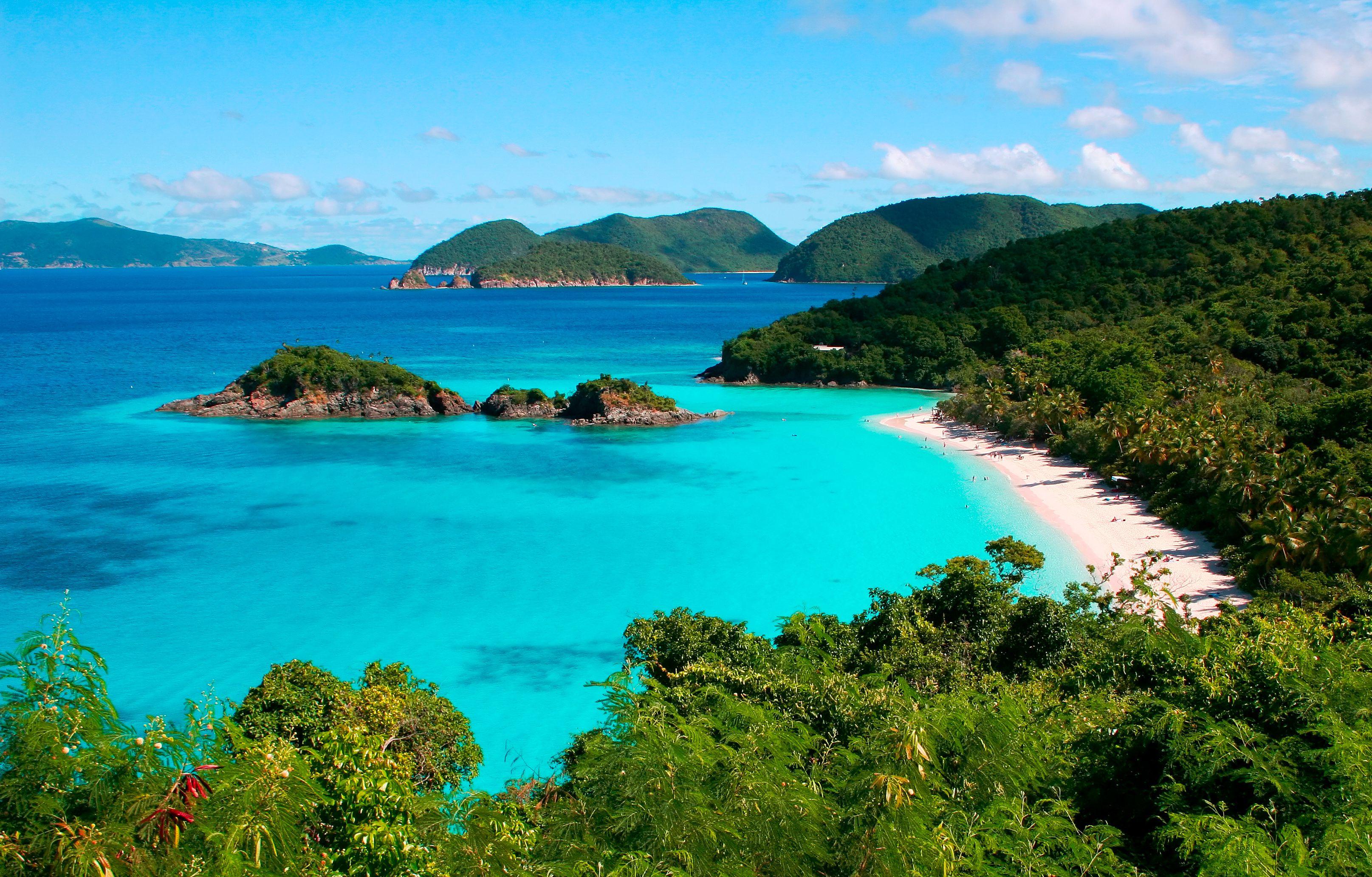 service national park islands Virgin national park