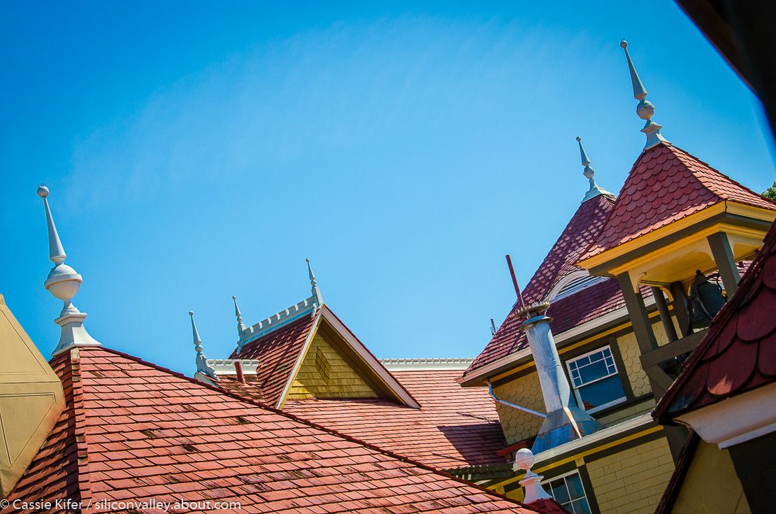 Winchester Mystery House Rooftops