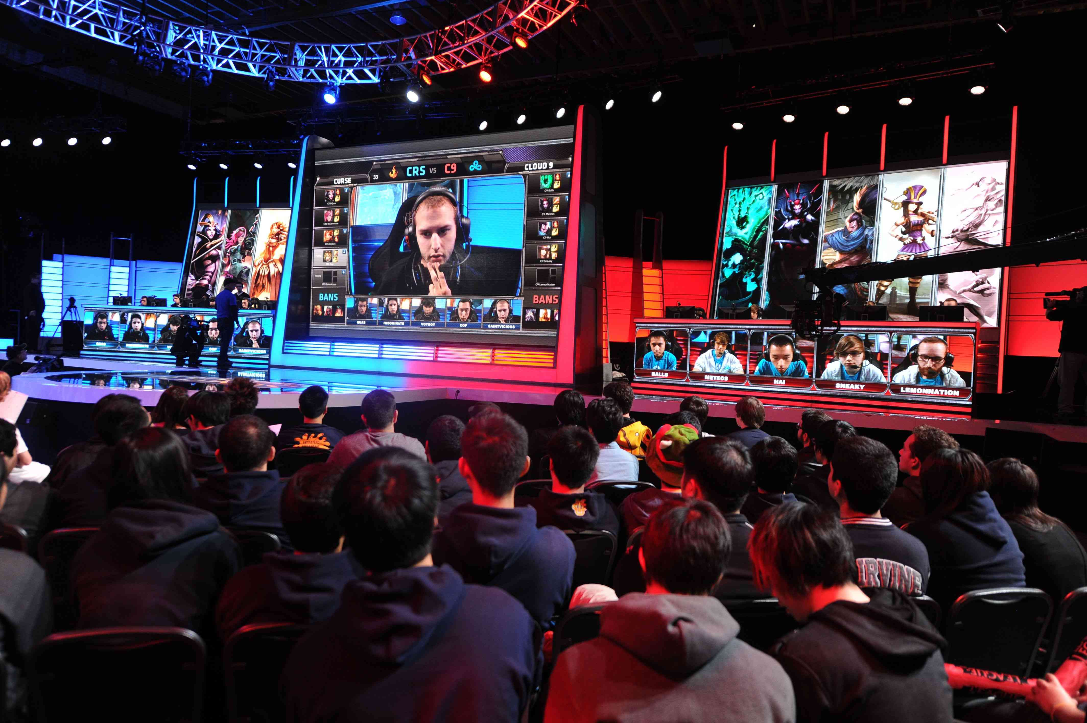 Studio Audience for the League of Legends North American Championship