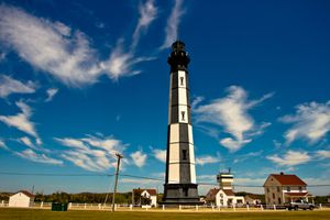 New Cape Henry Lighthouse in Virginia