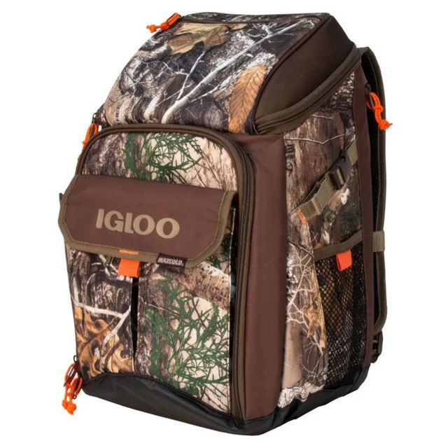 62131e77d051 Best for Hunting  Igloo RealTree 16 Qt. Backpack Cooler