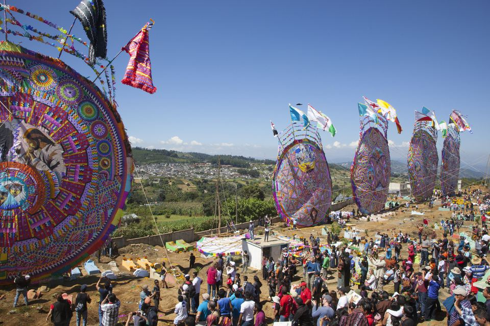 Day of the Dead Kite Festival in Guatamala