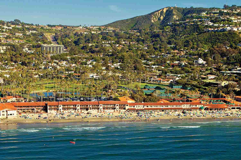 La Jolla Beach & Tennis Club Aerial View