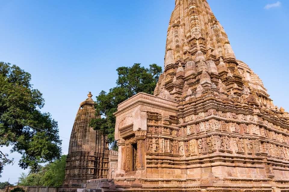 Exterior of the Khajuraho Temples