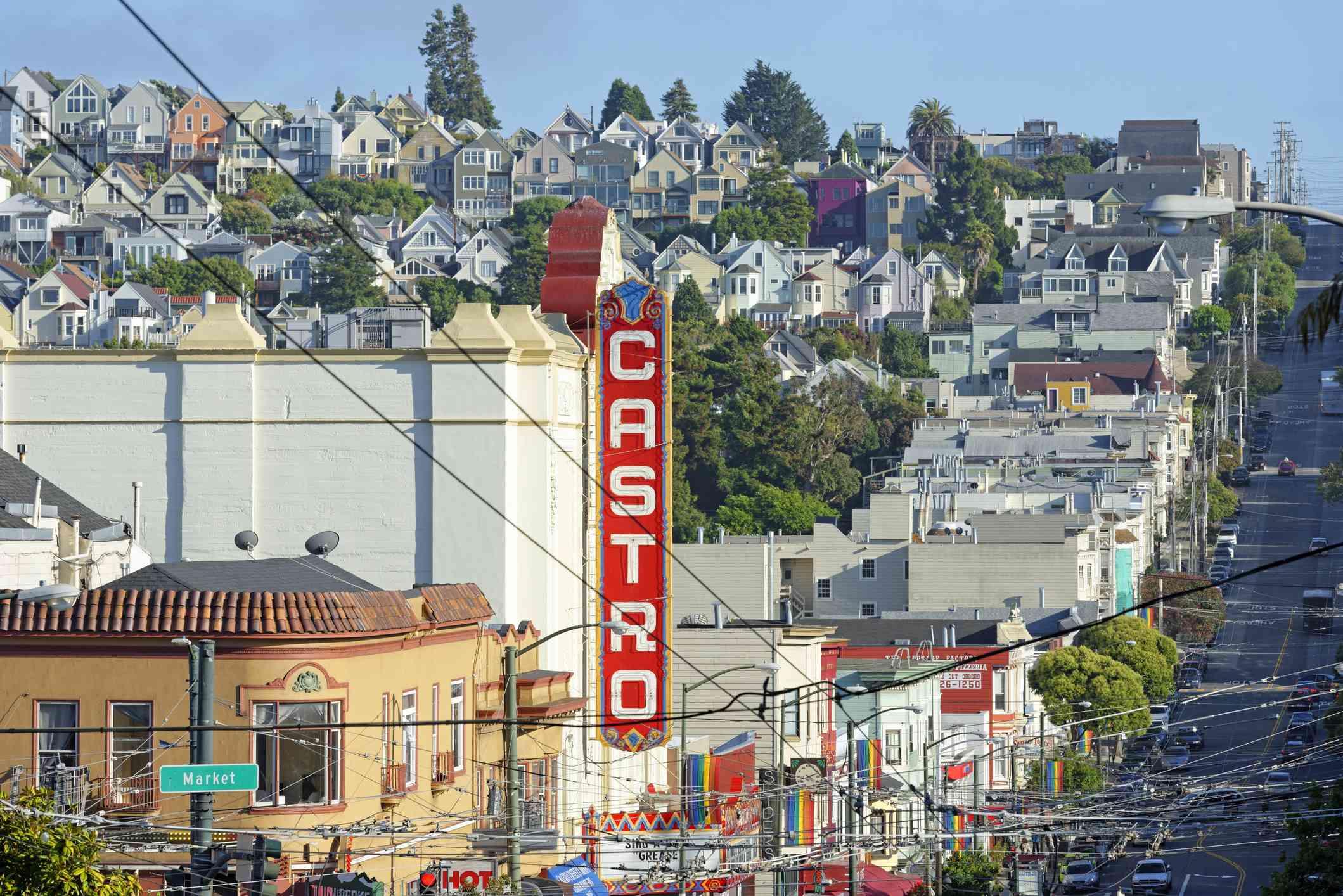 Iconic Castro, San Francisco, California, United States of America, North America