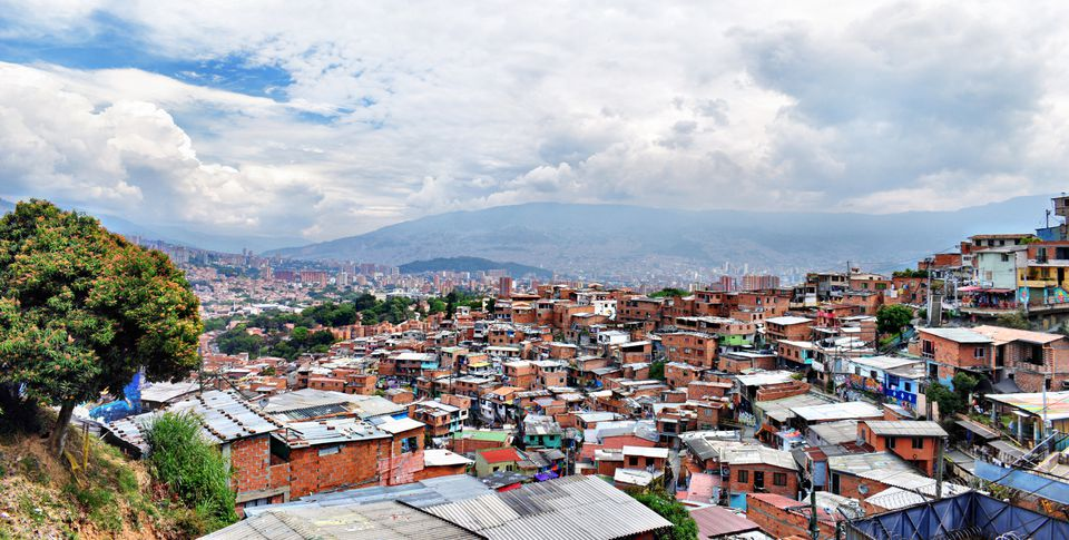 The view of the Medellin
