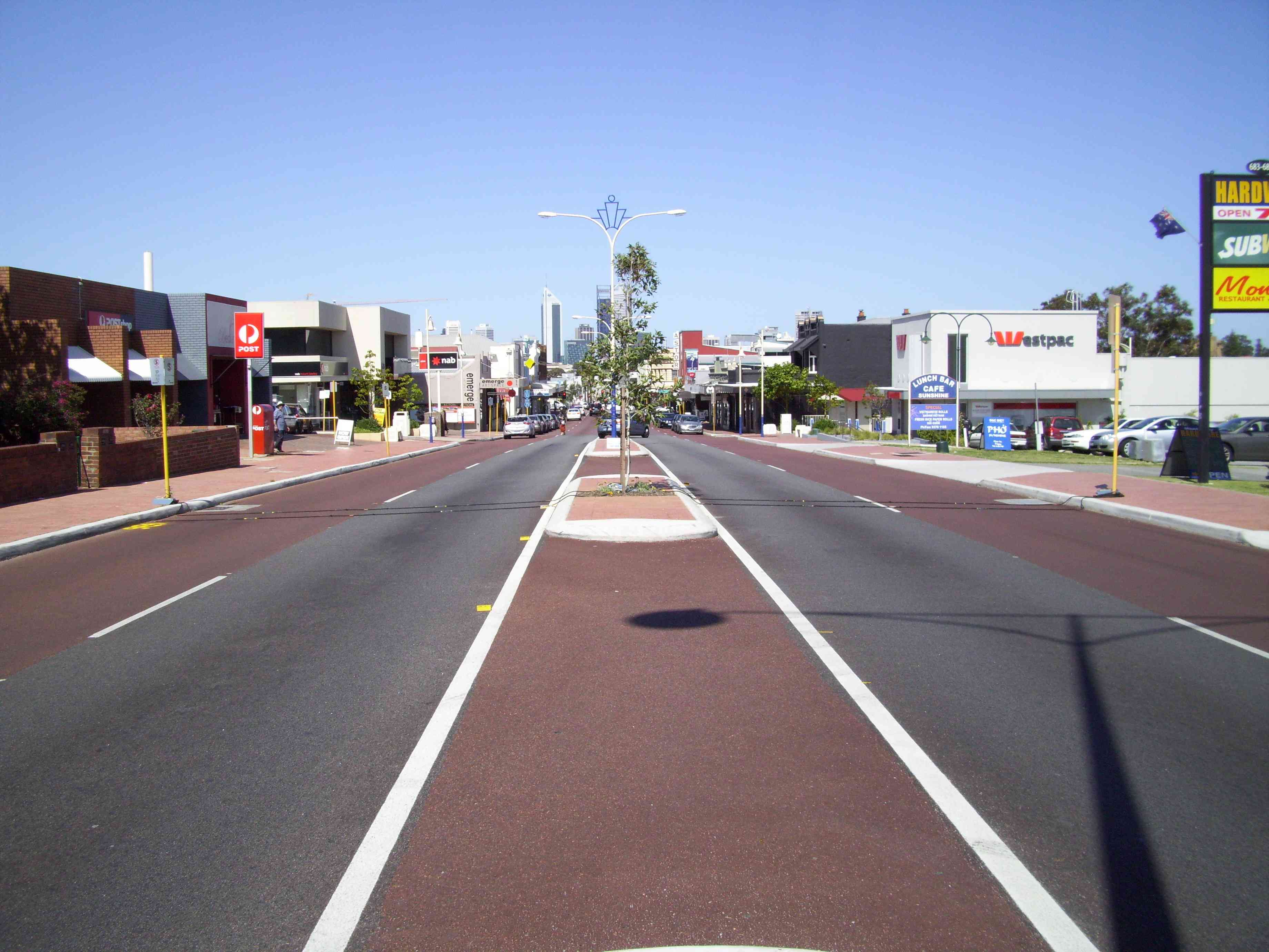 Bossman is located on Beaufort St., Mount Lawley, Perth