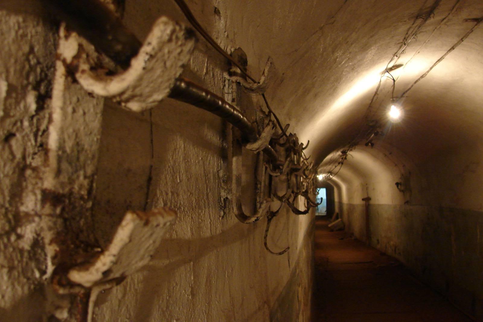 Vladivostok underground tunnel