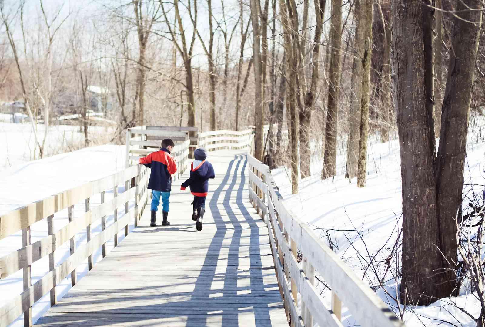Snowshoeing Montreal 2017 season details for Bois de l'Île Bizard.