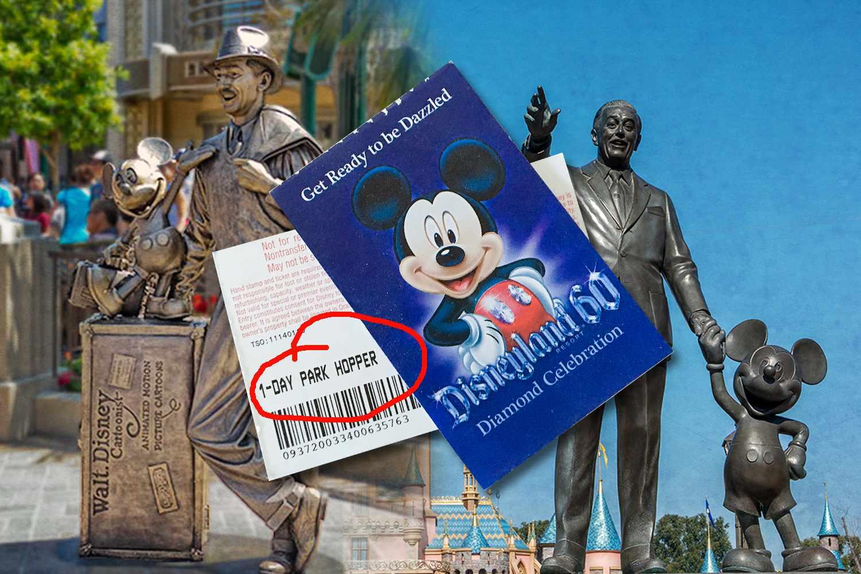 A Park Hopper Pass Gets You Into Disneyland and California Adventure