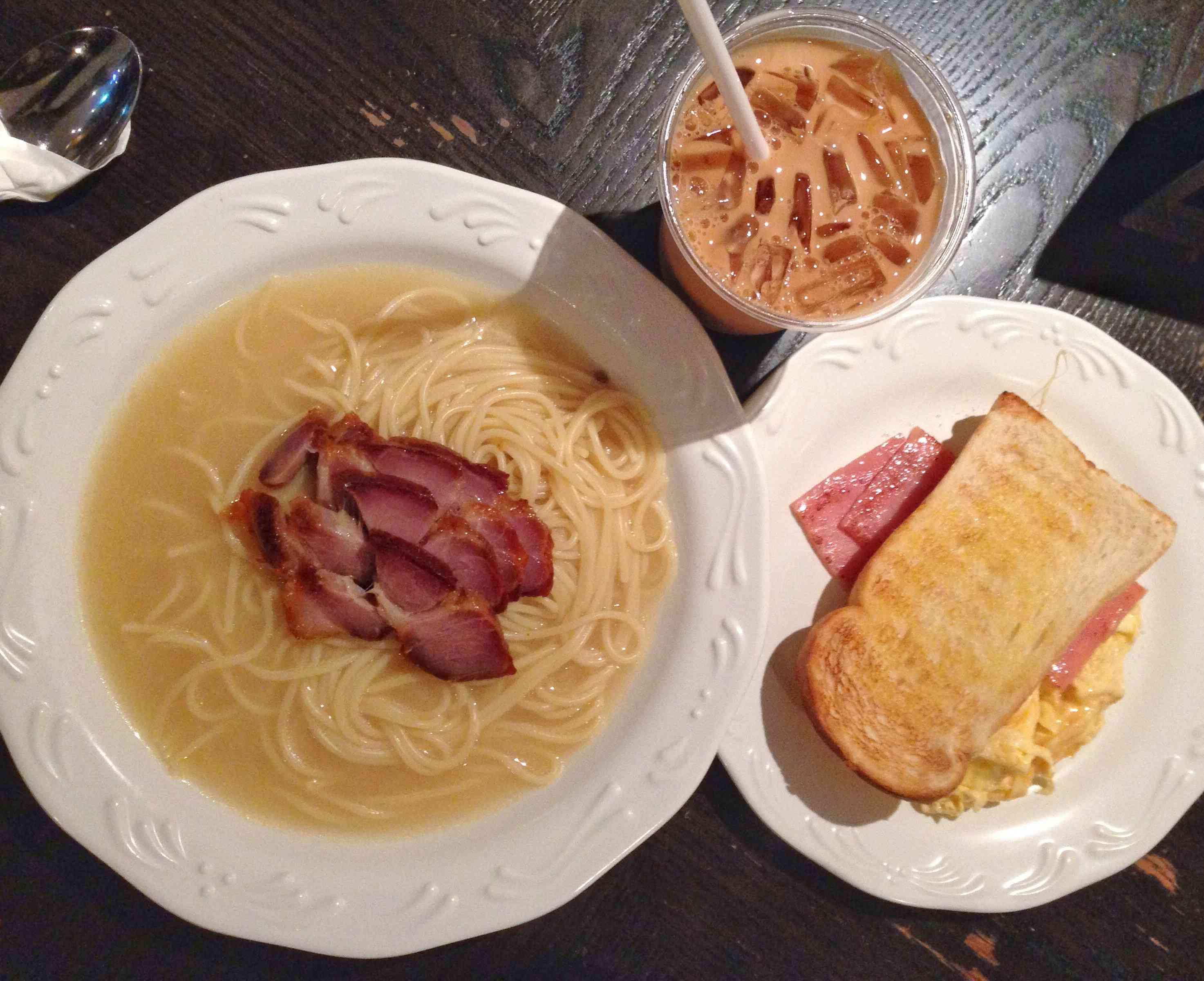 All day set meal, Hong Kong