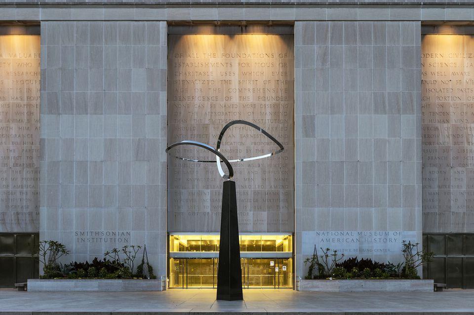 El Museo Nacional de Historia Americana en la Institución Smithsonian en Washington DC