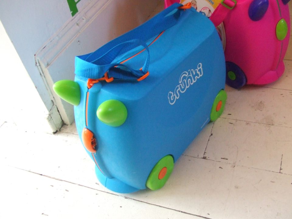Trunki suitcase on floor
