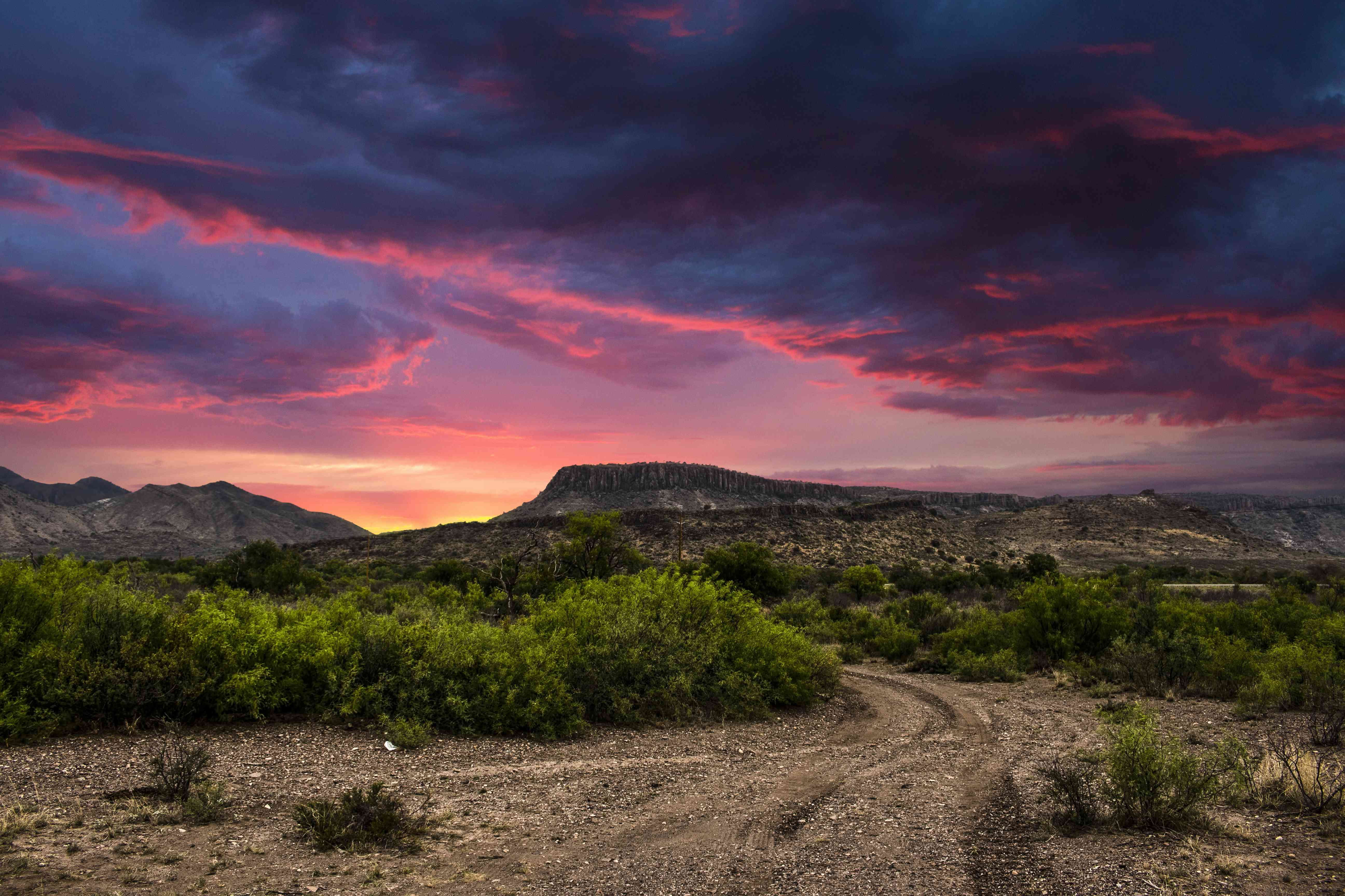 Texas Landscape, Alpine, Texas