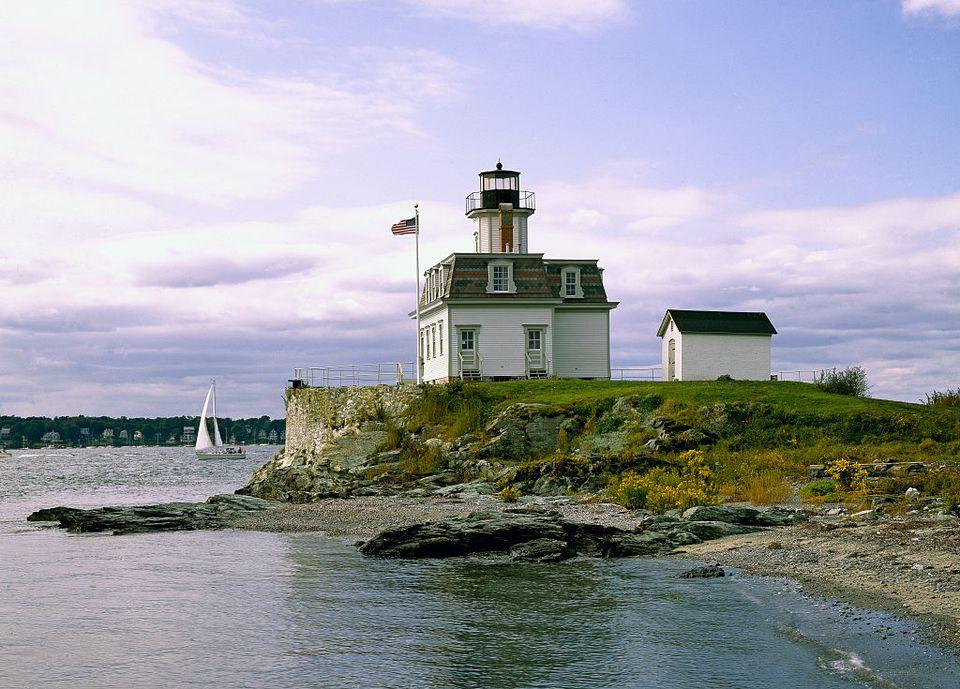 Faro de Rose Island, Rhode Island