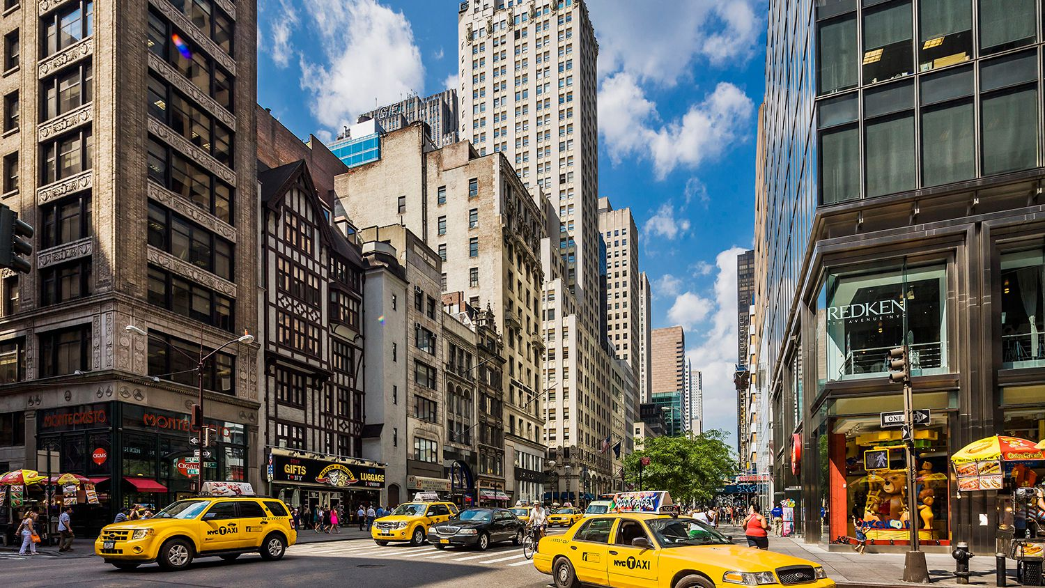 Shopping on New York's Famous 5th Avenue