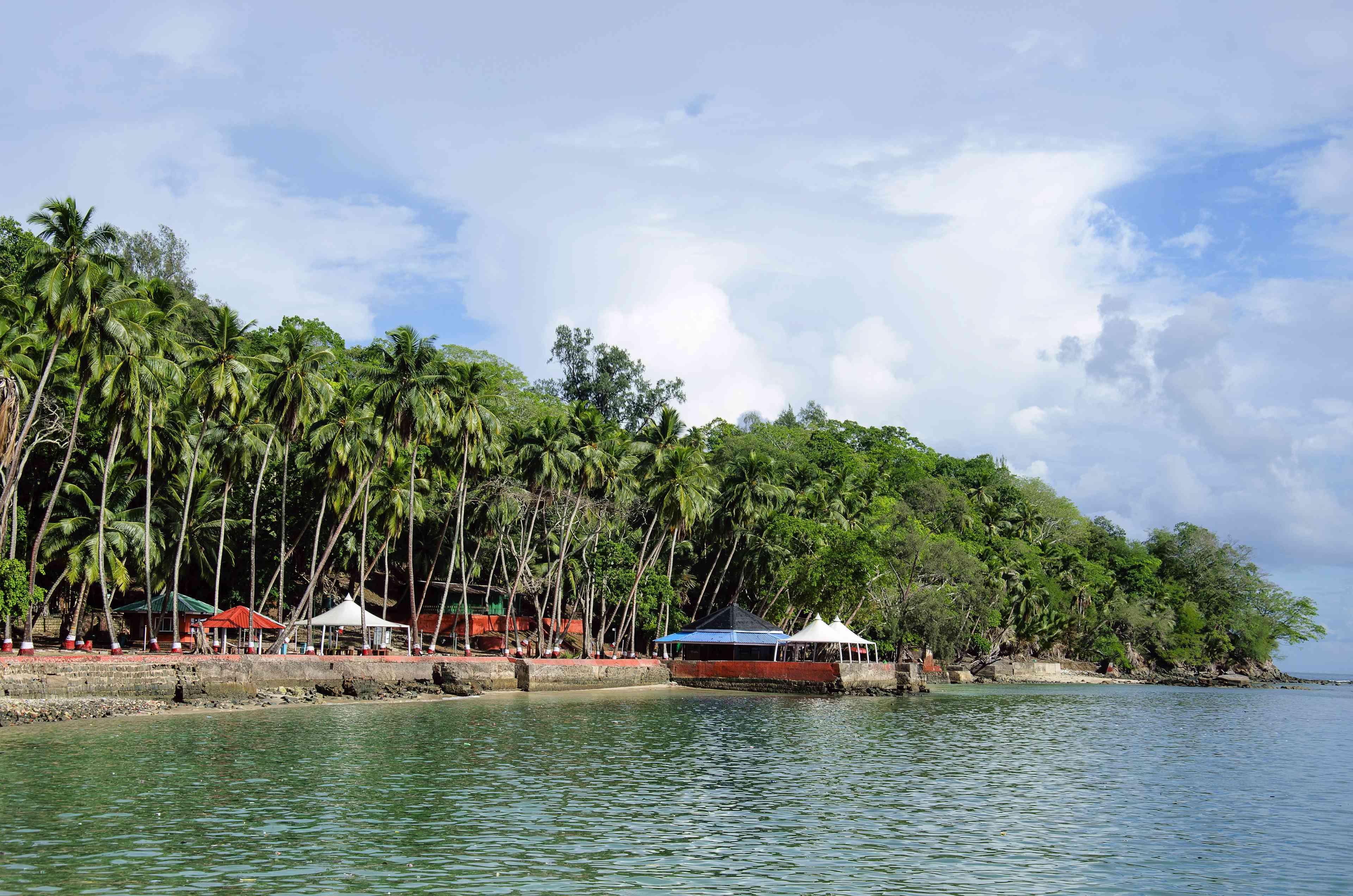 Isla Ross, isla Andaman y Nicobar, India