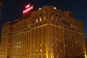 Photo of the Peabody Hotel in Memphis, Tennessee