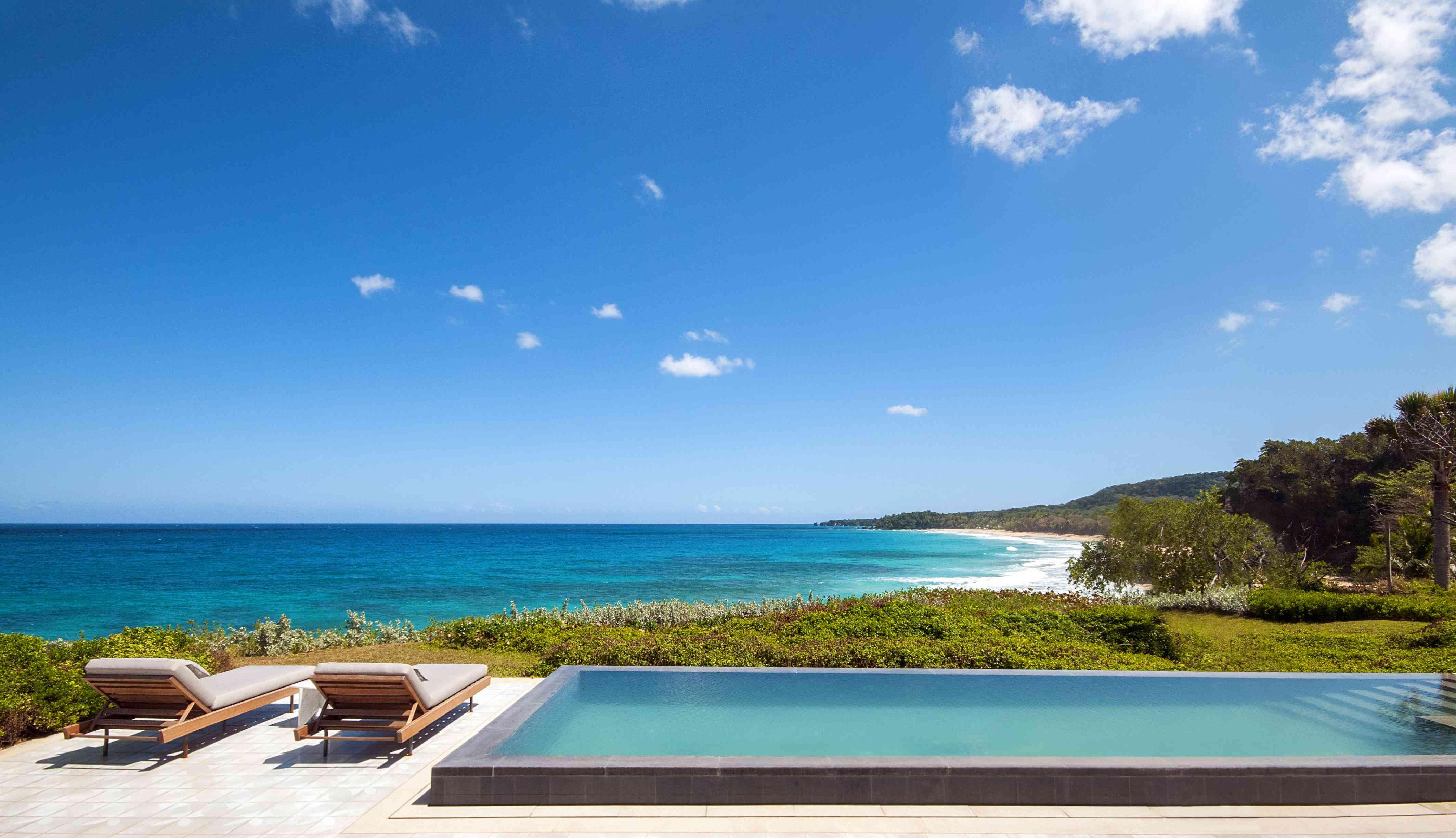 A Casita pool at Amanera Resort in the Dominican Republic