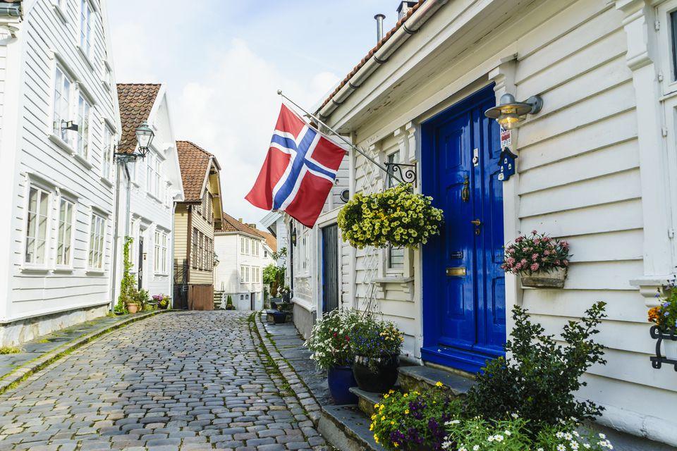 Gamle Stavanger Norway