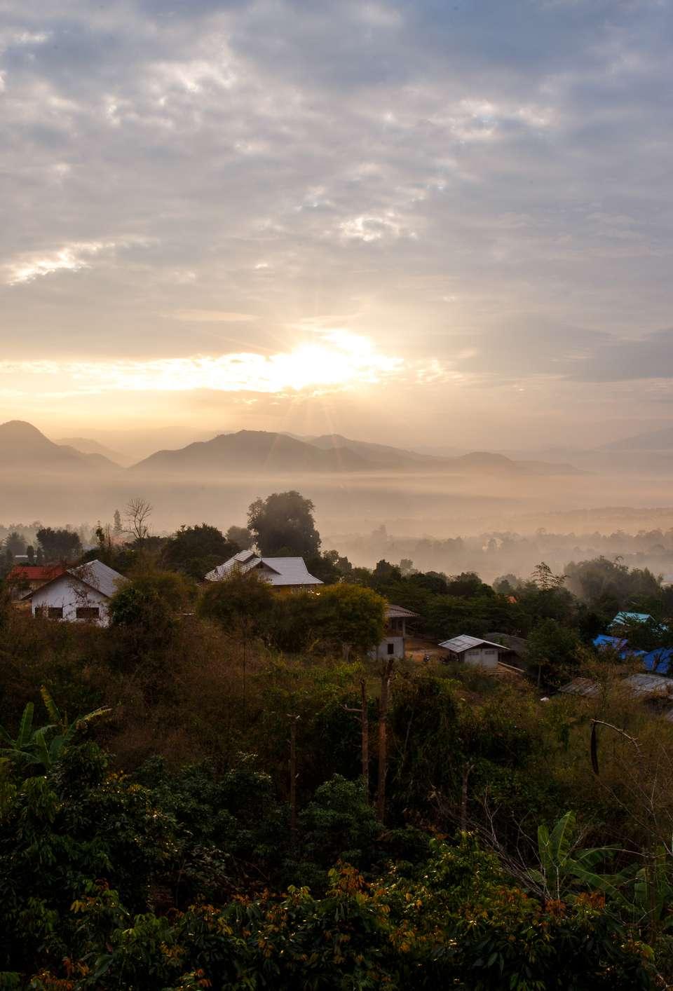 Dawn over Pai, Mae Hong Son, Thailand