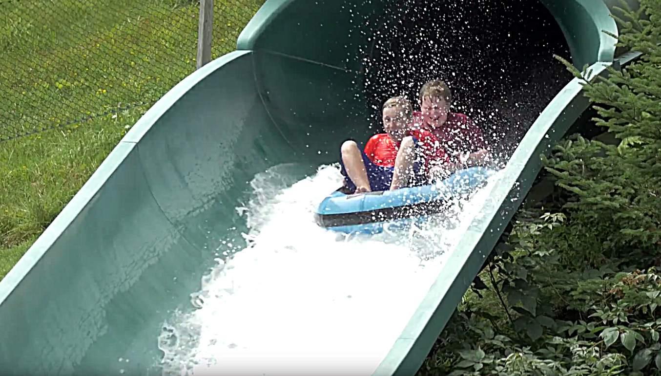 Bromley's Big Splash Waterslide