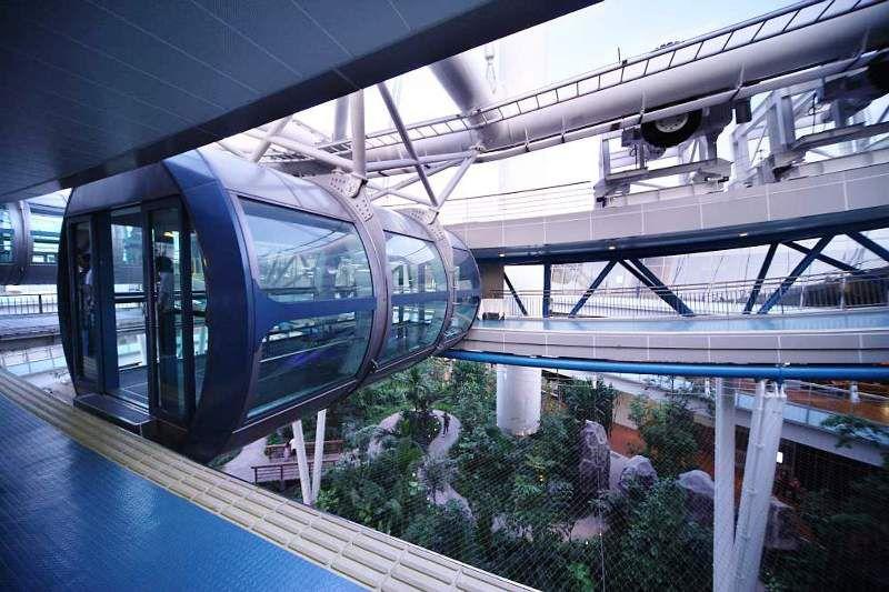 Image of Disembarkation Platform, Singapore Flyer