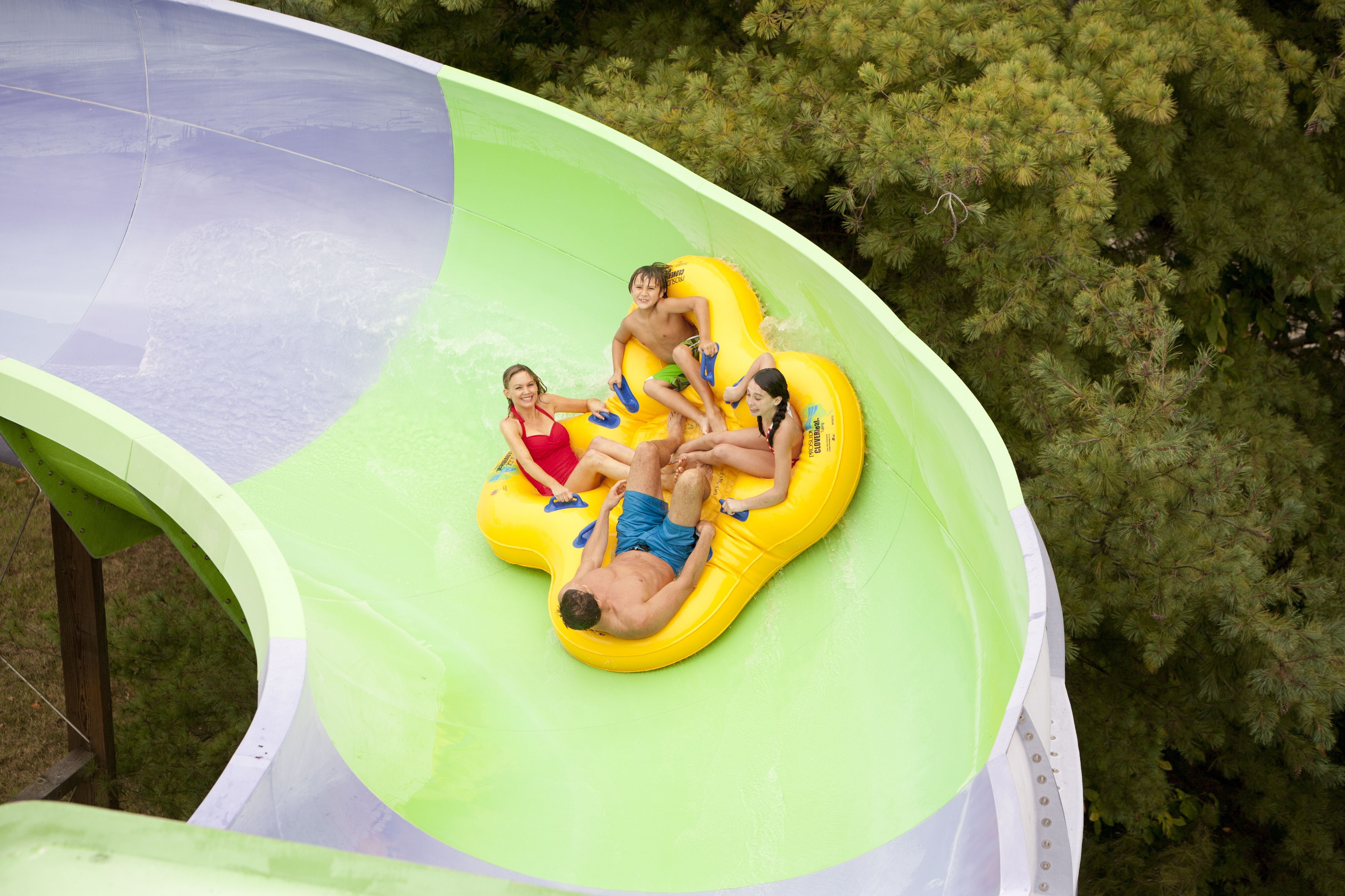 Six Flags Water Slide