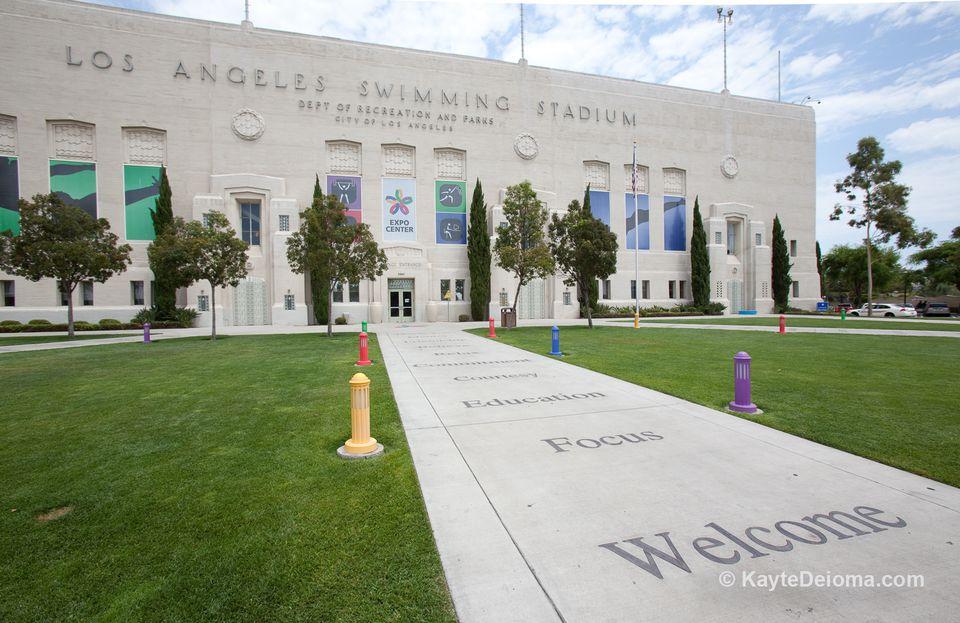 Estadio de natación de Los Ángeles