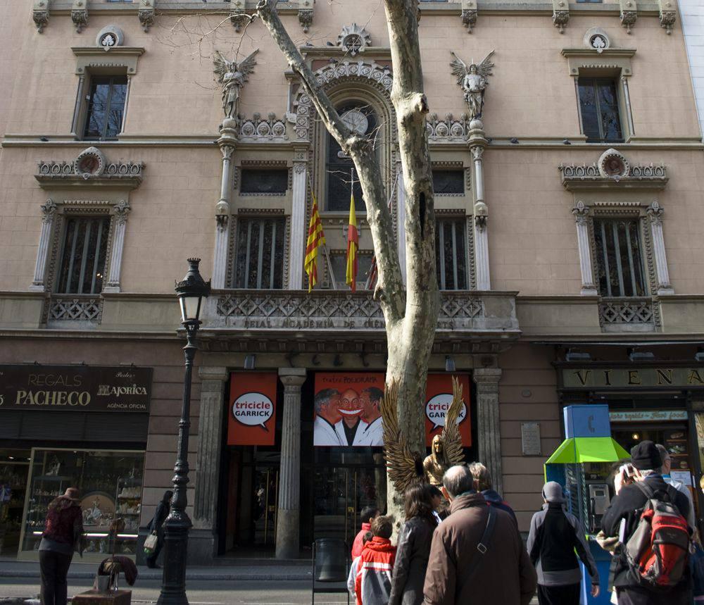 Barcelona's famous theater Liceu