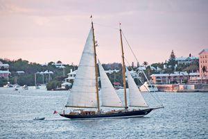 Hamilton sailboat