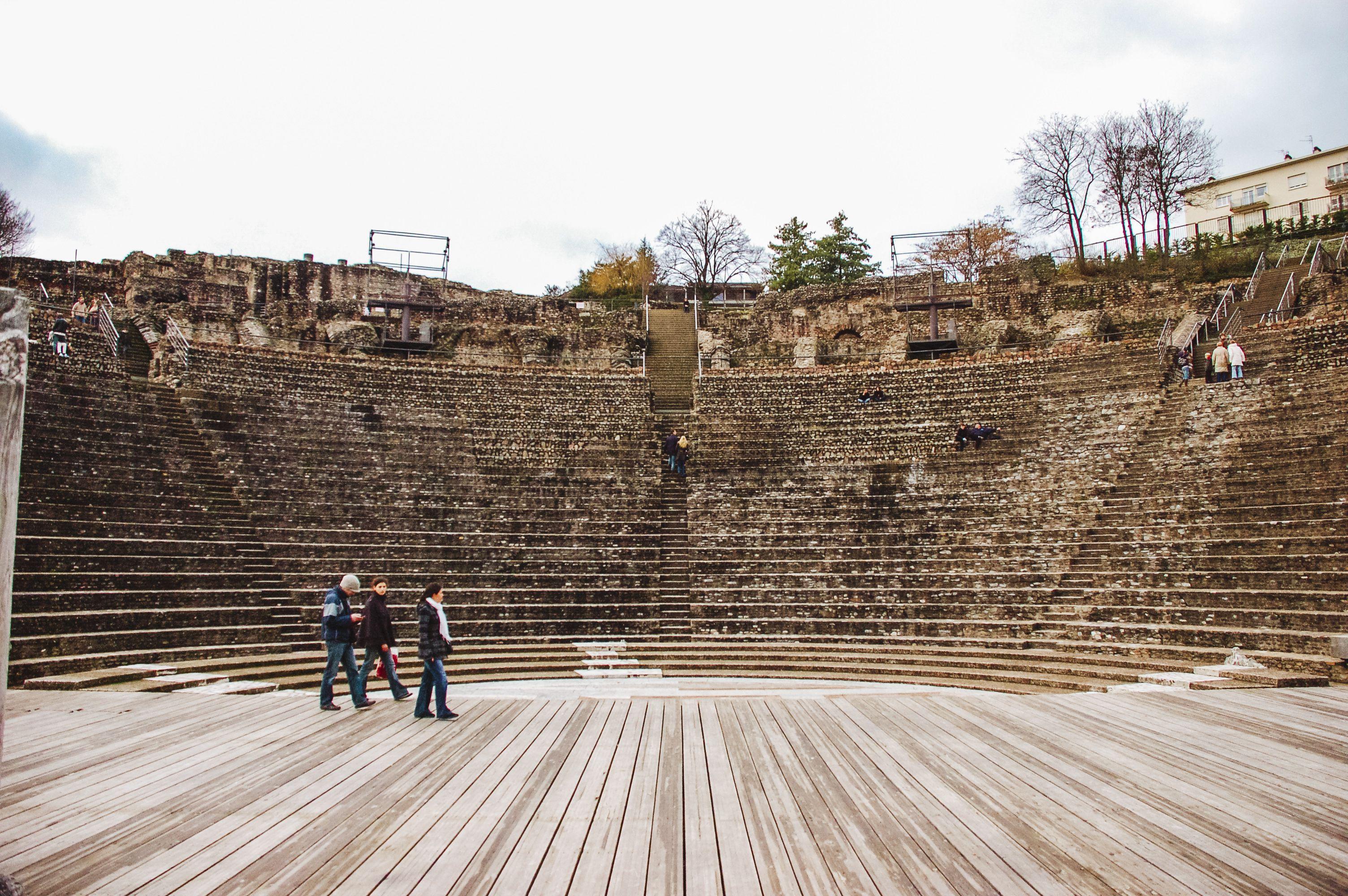 Roman Amphitheater in Lyon