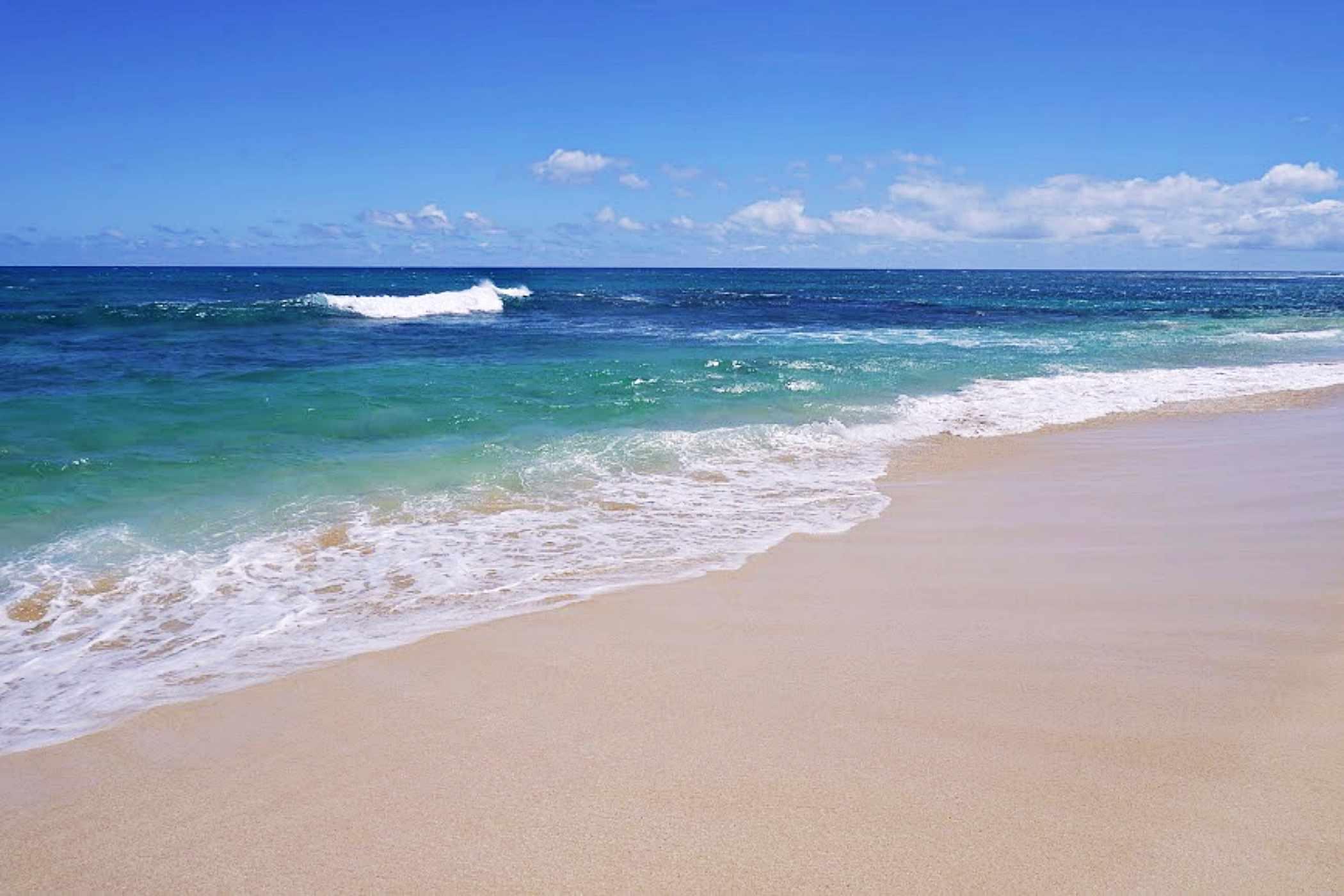 Mokule'ia Beach on Oahu