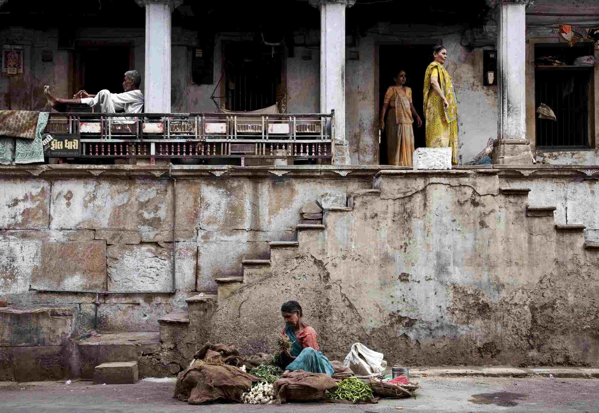 Ciudad Vieja, Ahmedabad, Gujarat, India