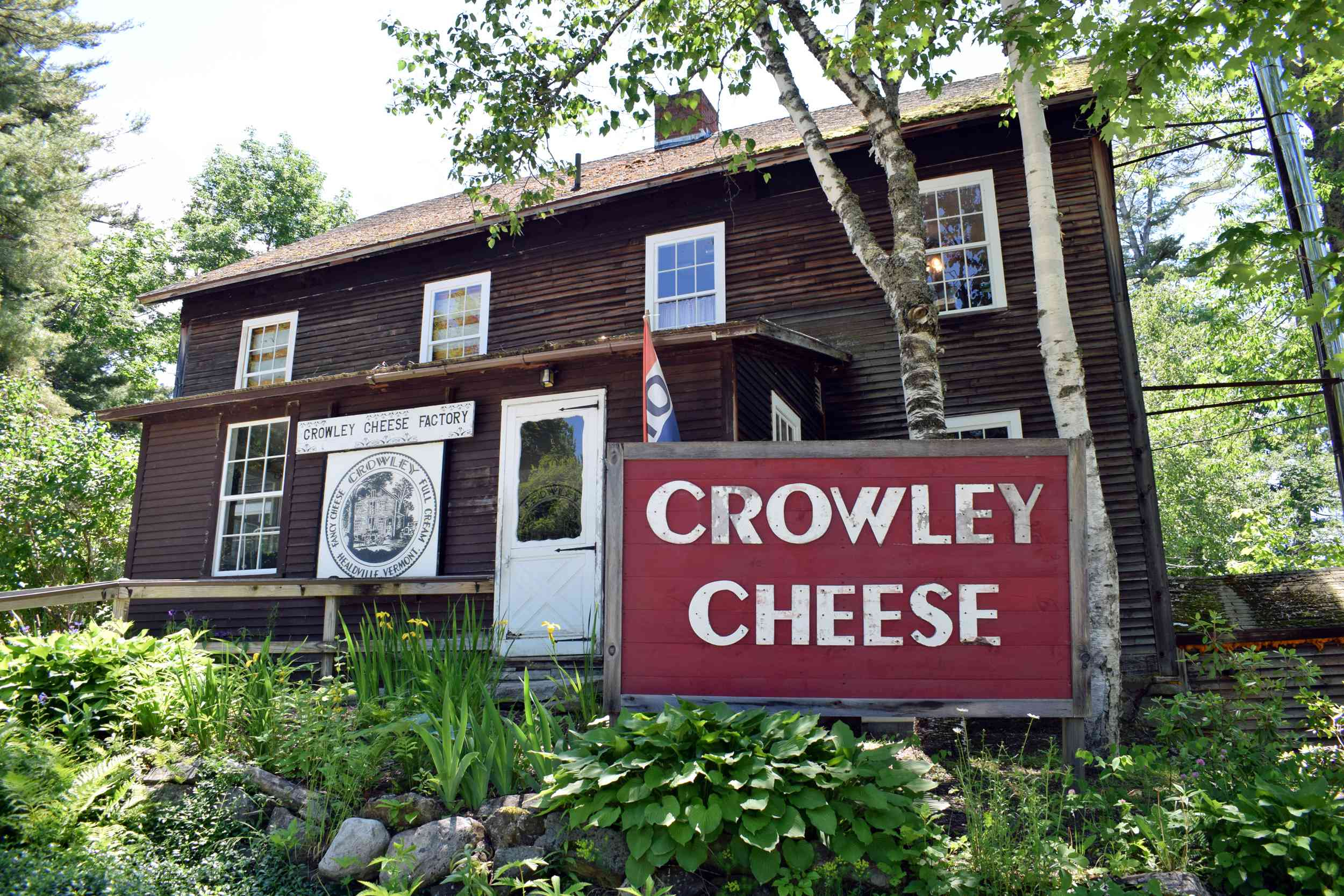 Crowley Cheese Factory Vermont