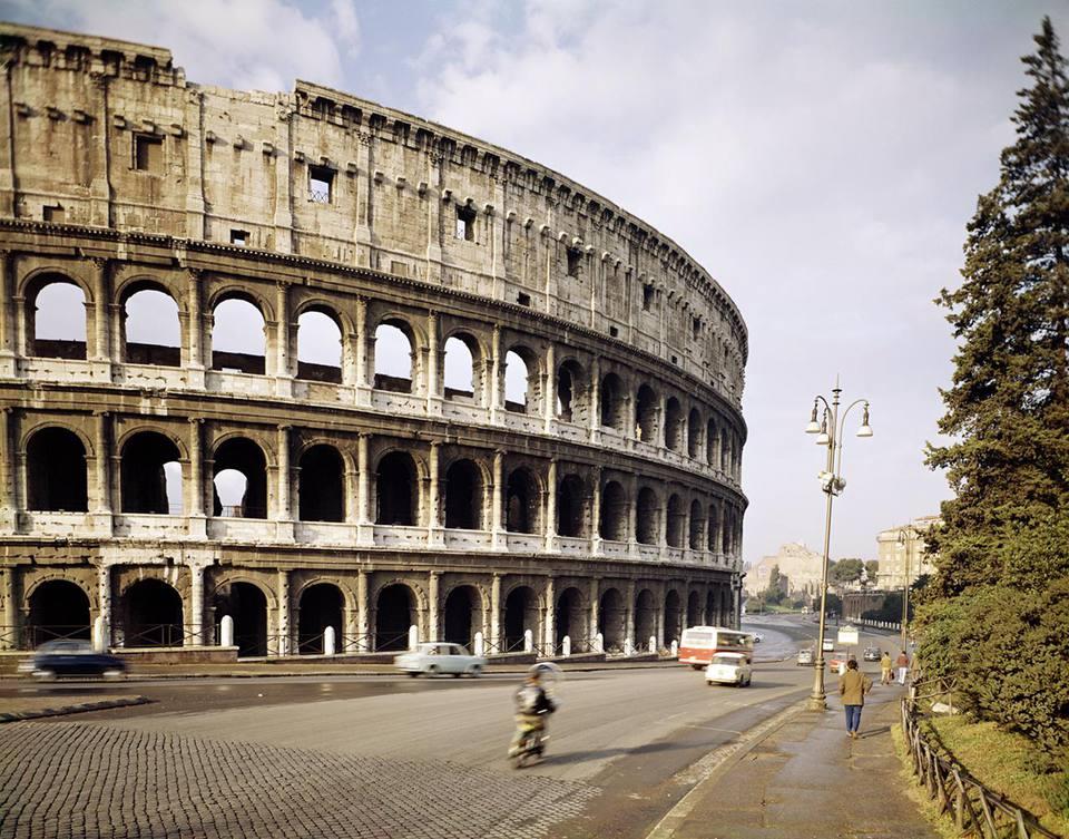Exterior of Roman Colosseum