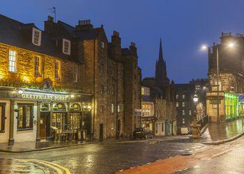 Greyfriars Pub in Edinburgh