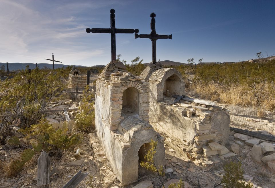 Terlingua Ghost Town in Texas
