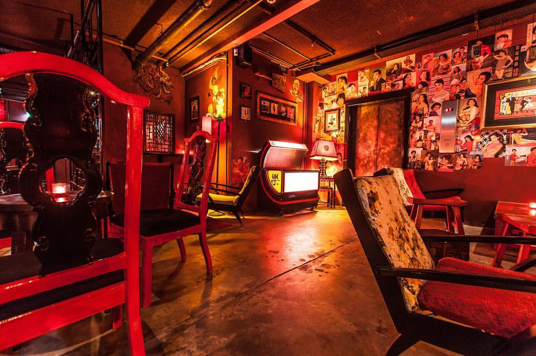 Interior of Uncle Ming's bar